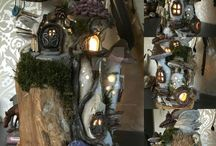 fairy and gnome houses