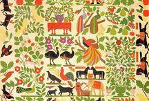 Vintage Applique quilts