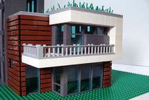 Lego domy
