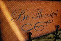 Thanksgiving/Fall / by Samantha Harbert