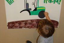Fête d'enfants / Une foule d'idées pour une fête d'enfants ayant pour thèmes John Deere !