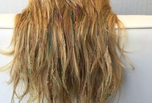 Glitter Pop / There's always a little room to sparkle right? Glitter pop is a fun and festive hair style that adds a little sparkle to your life.