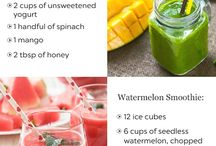 Smoothies and lemonades
