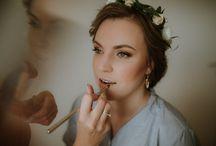 bride wedding preparation photo