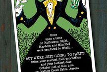 halloween invitations