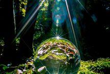 Fotografie glazenbol