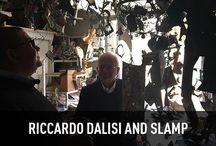 Riccardo Dalisi and Slamp / Sospensione, O'Cafè and Uccellini, designed by Riccardo #Dalisi for Slamp, light up the exclusive #exhibition organized by ADI Associazione per il Disegno Industriale-section Puglia and Basilicata, dedicated to the artist at #MUST - Museo storico Città di Lecce till december 2016 - Discover more: www.slamp.com