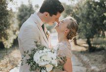 Boho rustic destination wedding in Crete in Agreco Farm