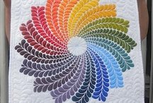 Colouful quilts