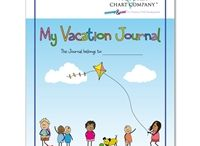 Kids Travel Journals / Have your child create memories when on vacation. Encourage them to write and  draw and be creative. / by Victoria Chart Company