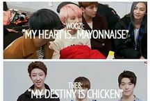 Seventeen's love for food