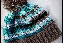 Crochet ladies hats