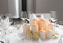 FESTLICHE DEKORATION - Für Hochzeiten und Feierlichkeiten / Auf Ihrer Veranstaltung dekorieren wir die Tische passend zum Anlass und ganz nach Ihren Wünschen! Ob Kerzen, edle Gestecke oder Blumensträuße, teilen Sie uns gern Ihre Ideen mit!