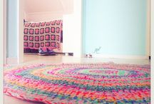 Crochet carpets
