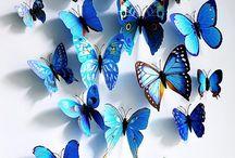 Pillangó díszítések