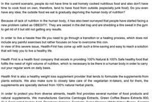 Buy health supplement online - Google Docs / In the current scenario, people do not have time to eat homely cooked nutritious food and also dont have time to cook food on own, therefore, tend to have food from outside (especially junk food). Do you even have any idea; the outside food we eat is gradually depriving the human body of nutrition?
