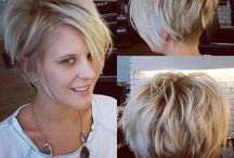 Hair ideas for my nowadays short hair