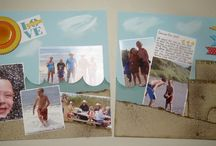 Stampin' UP! Scrapbooking / scrapbook pages made with Stampin' Up