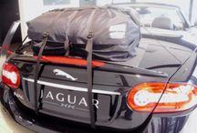 Jaguar XK Cabrio Gepäckträger / Die Alternative zu einem Gepäckträger für lhren Jaguar XK cabrio. Hinzufügen von Wasserdicht 50 Liter Gepäckraum