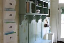 Home - Storage / by Chris @ Postcards & Pretties