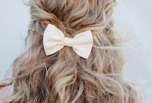 Wedding Bridal Hair inspiration / Hair style inspirations for the big day. Bridal hair styles.
