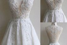 bride short dresses