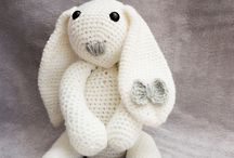 Soft Toys - Crocheted and Stitched