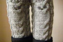 Leg Warmers/Boot Cuffs / handmade by NastiaDi.