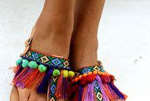 Sandalias hippies