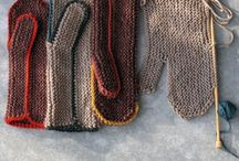 knit accessories mittens gloves and any thing I havn't thought of!
