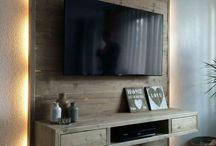 TV Rückwand