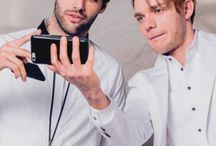 Jace & Alec & Simon & Magnus