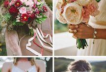 Country wedding flower inspiration