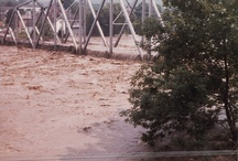 Johnstown flood 1977 / Johnstown, Pa.  was supposed to be flood proof after the Corp of engineers put concrete walls around the river I actually live here at the time and the apartment I lived in was condemed after the flood, one wild night for sure.