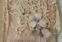 Cloth Collage Romantic