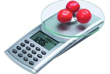 Food scales / Food scales for weight measurement of food in small quantities with precision.