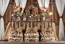 Burlap Wedding / Organic elegance! Natural jute fabric, lanterns, birdcages and delicate colors of floral combine to create wedding décor that is pure rustic refinement. / by Hobby Lobby