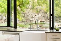 kitchen/Patio door / by Ana Paula Teeple