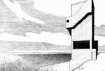 handzeichnung architektur