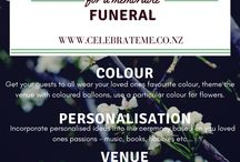New Zealand's Funeral Service Directory - Celebrate Me / Ideas, hints and tips to celebrate the life of a loved one