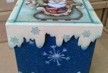 Caixas Panetone e coisas de Natal
