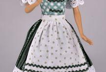 Mode für Puppen / Handgefertigte Designermode für Puppen mit 29cm Größe