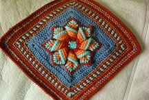 Crochet Granny Squares / by Elizabeth Olavarria