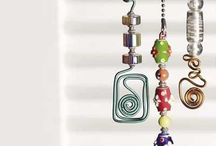 wire art and jewellery