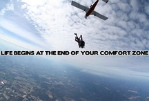 Skydiving Quotes / Ever Considered Skydiving?  Here Are A Few QuotesTo Help You Move Past Your Comfort Zone And Strive For More Than The Status Quo