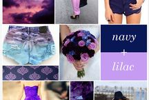 navy+lilac