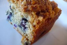 """Breakfast Treats / Doughnut, Crumb Cake & Similar Recipes -  Among my many recipe boards, there are separate boards for: """"Pie Recipes""""; """"Quick Breads & Other Dough Recipes""""; """"Cakes and Cupcake Recipes""""; and """"Cobbler and Polk/Dump Cake recipes"""""""