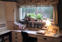creative crafting spaces / Stamping and crafting spaces