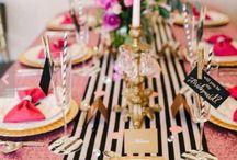 ornamentação de mesa