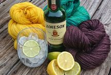 Drinks for Knit Nights and Friends / Mix something up that's refreshing and satisfying to share with friends at your next Knit and Natter!
